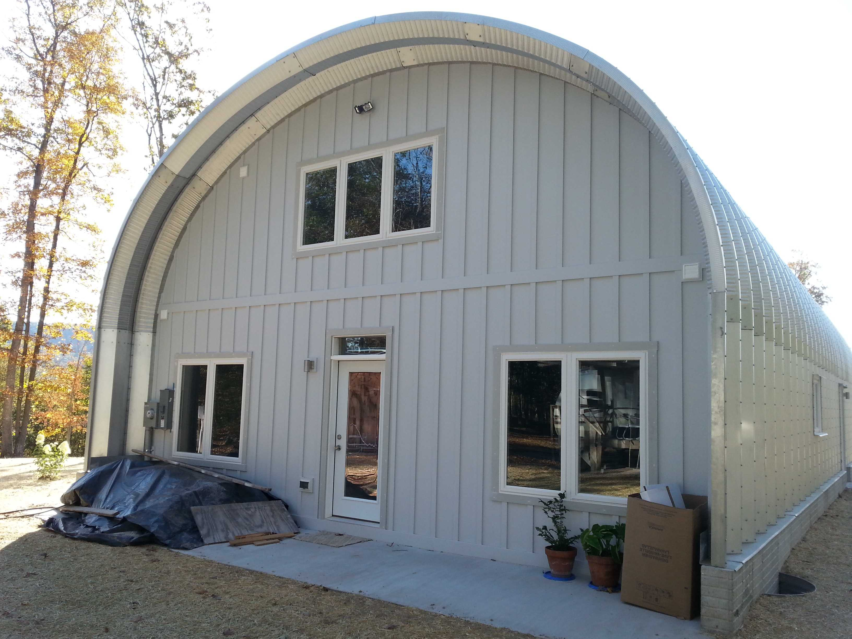 Exterior: Project Portfolio: Quonset Hut